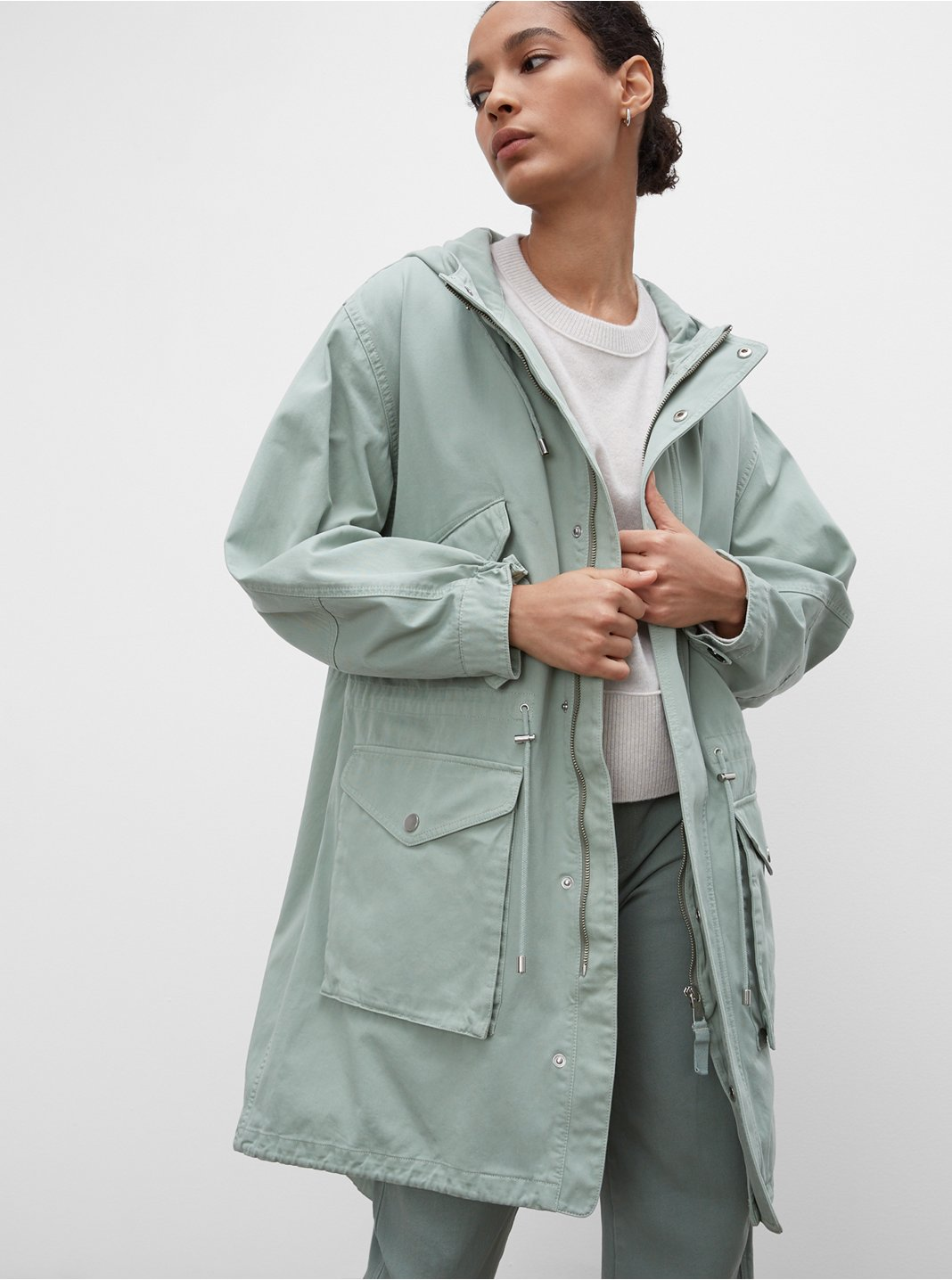Tea Dyed Parka
