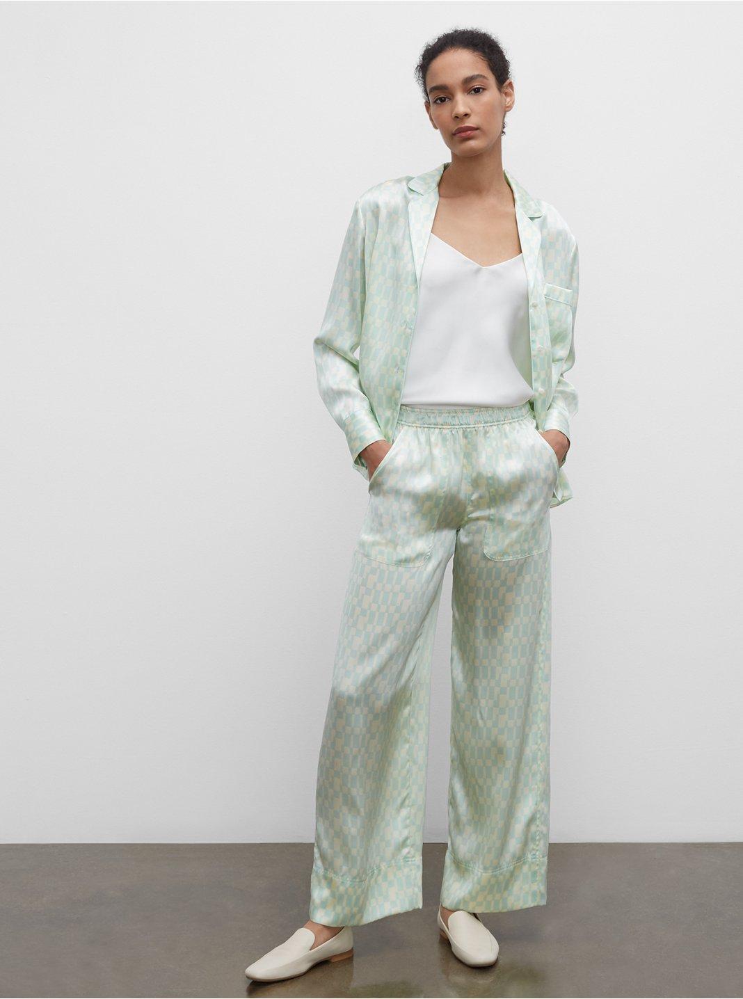 Silk Pajama Pants