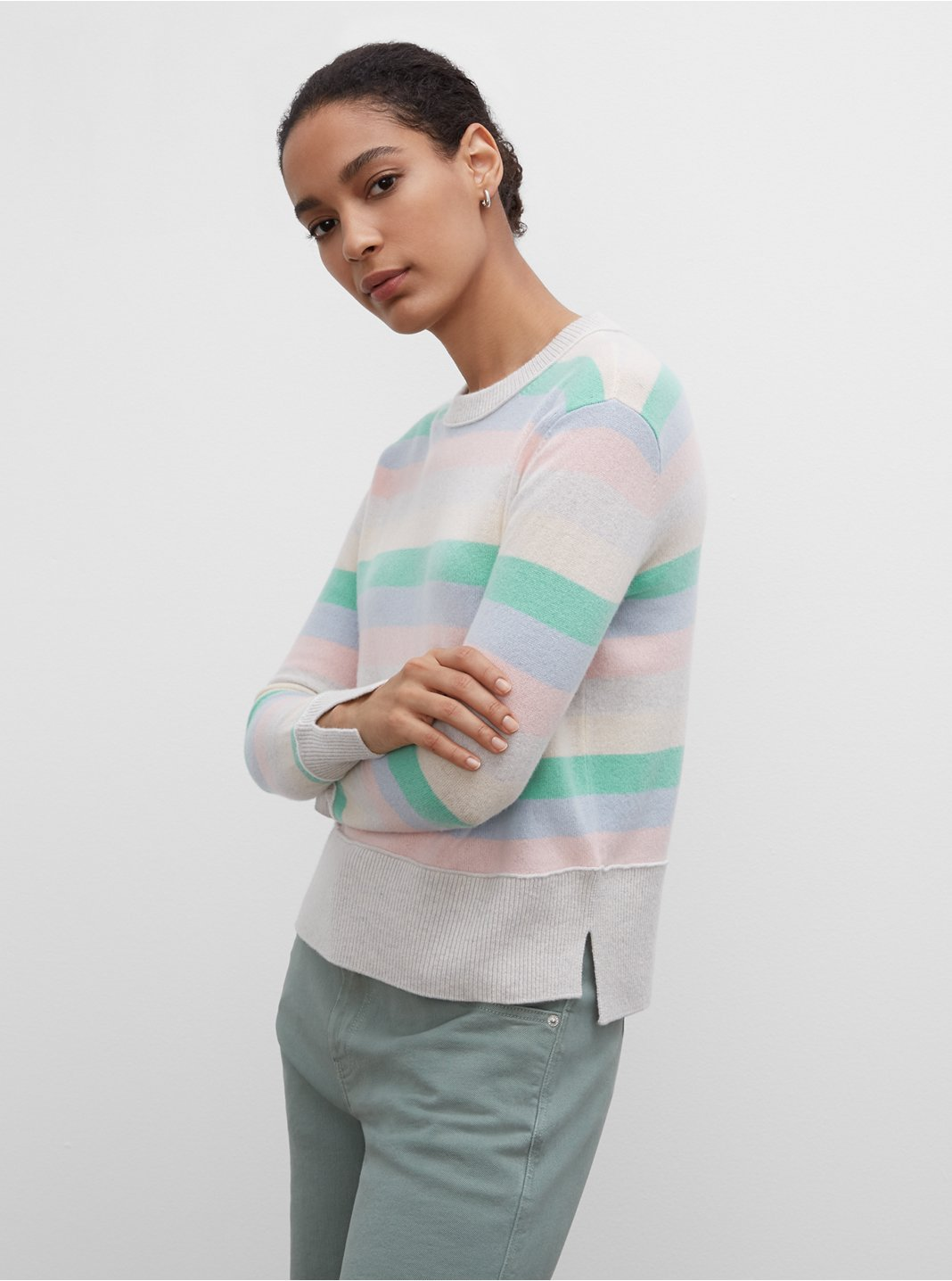 Everywear Cashmere Crewneck Sweater
