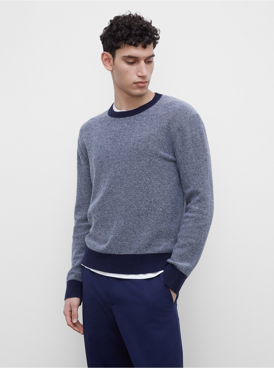Cashmere Lounge Crewneck Sweater