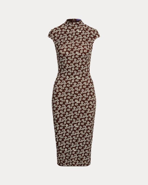 Deirdra Art Deco Jersey Day Dress