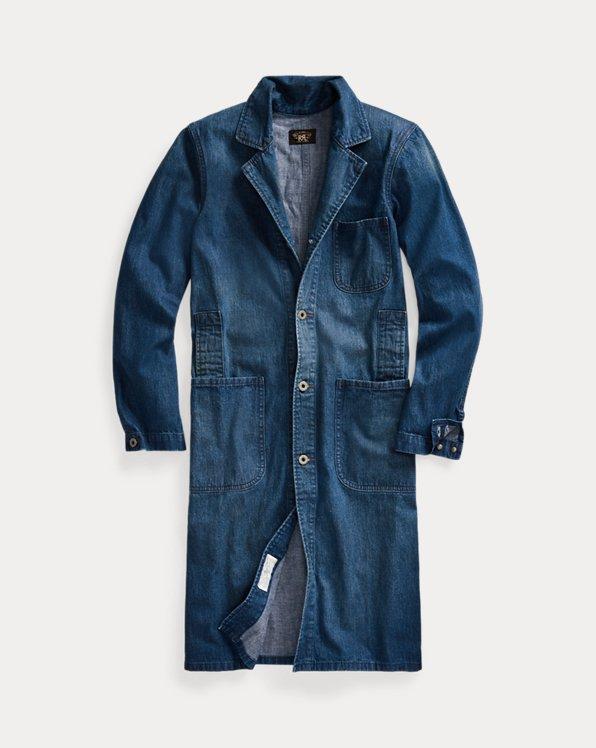 Denim Shop Coat