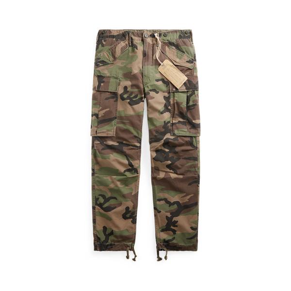 Camo Ripstop Cargo Trouser