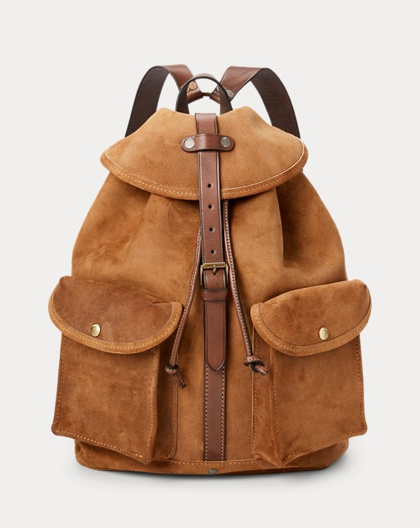 Roughout Suede Rucksack