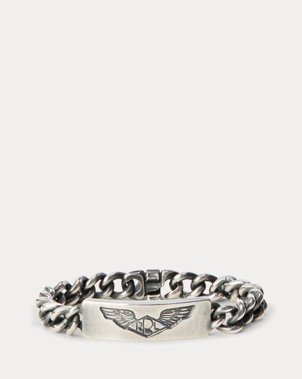Handmade Sterling Silver ID Bracelet