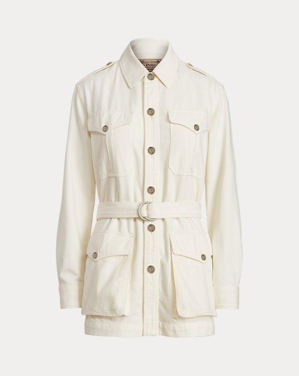 Twill Safari Jacket