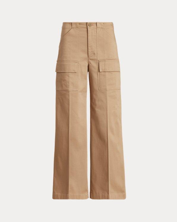 Wide-Leg Cargo Trouser