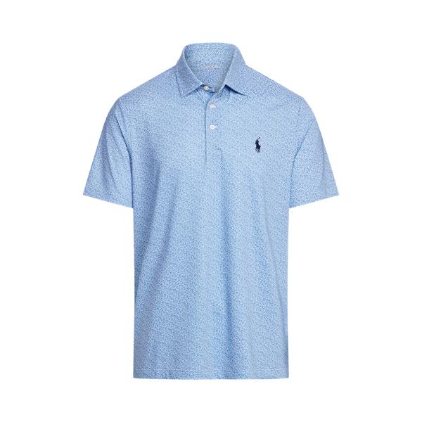 Ralph Lauren Classic Fit Performance Polo Shirt In Indigo Sky Multi