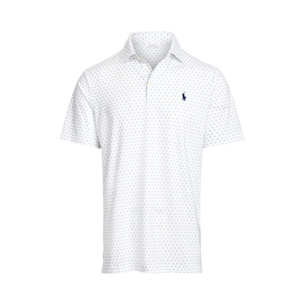 Ralph Lauren Classic Fit Performance Polo Shirt In Tossed Horseshoe
