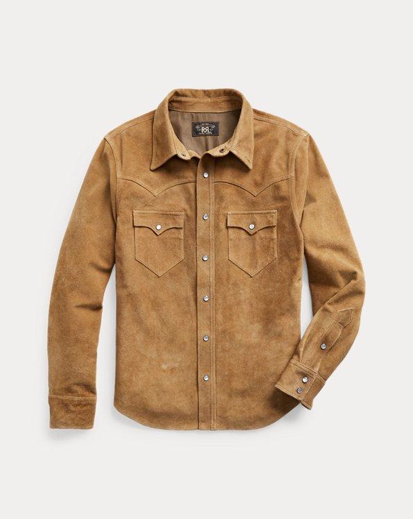Suede Western Shirt Jacket