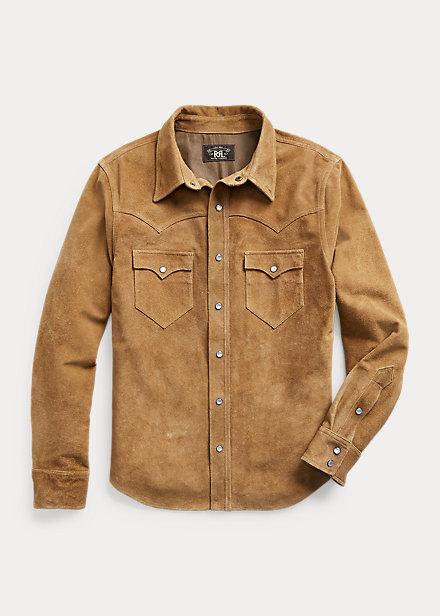 Polo Ralph Lauren Suede Western Shirt Jacket