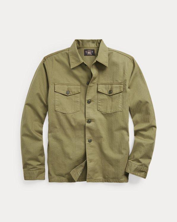 Herringbone Twill Shirt