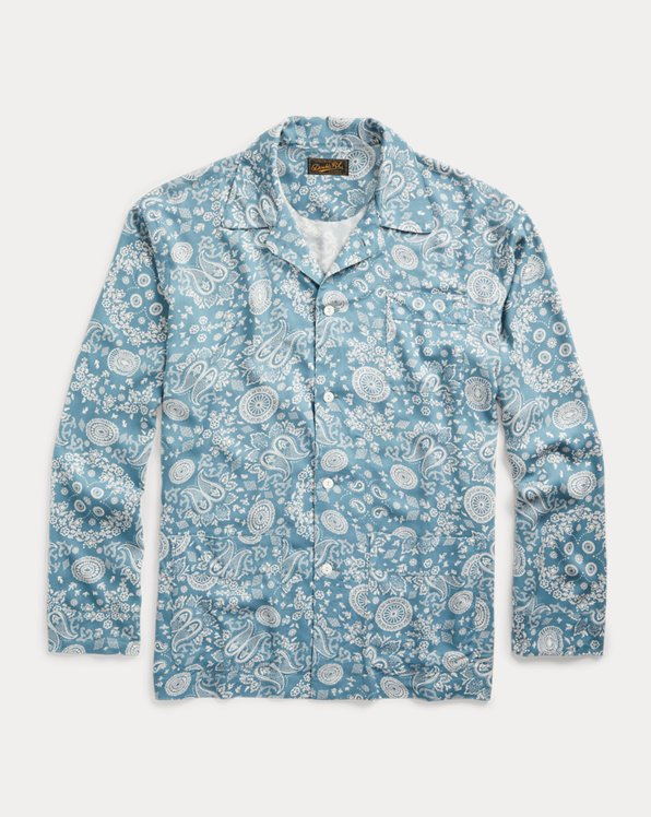 Limited-Edition Paisley Pajama Set