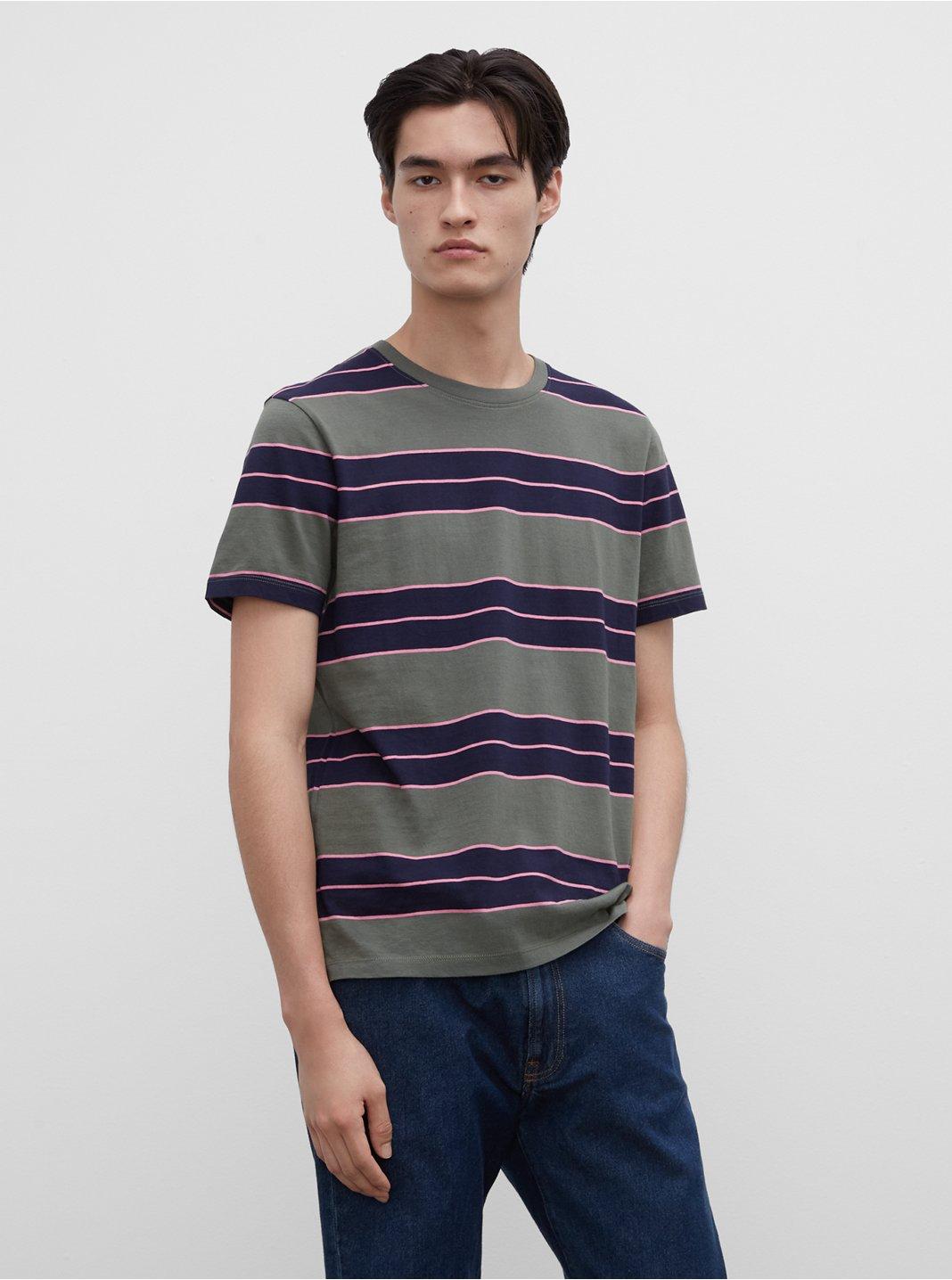 T-shirt Nirvana à rayures