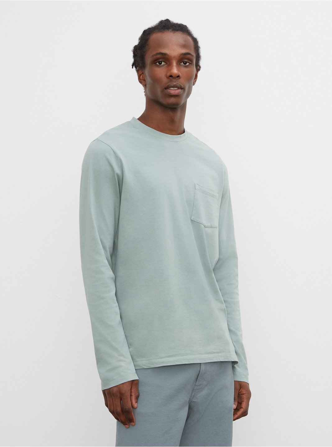 Williams Tea Dyed Long-Sleeve Crew
