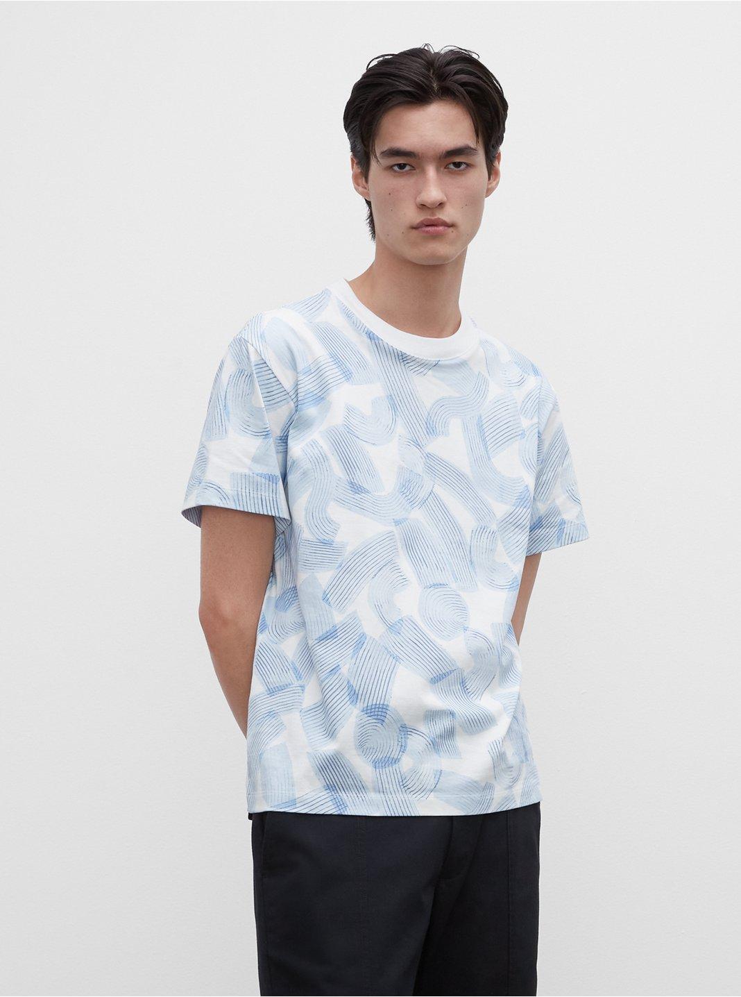 T-shirt coup de pinceau