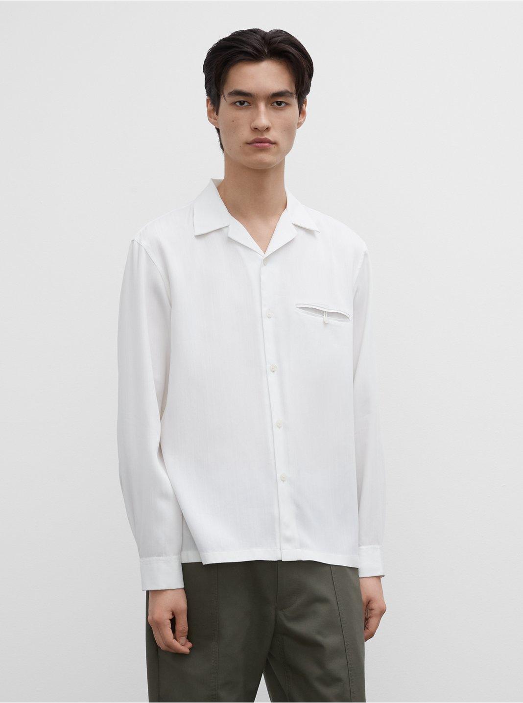 클럽 모나코 셔츠 Club Monaco Long Sleeve Shirt,White