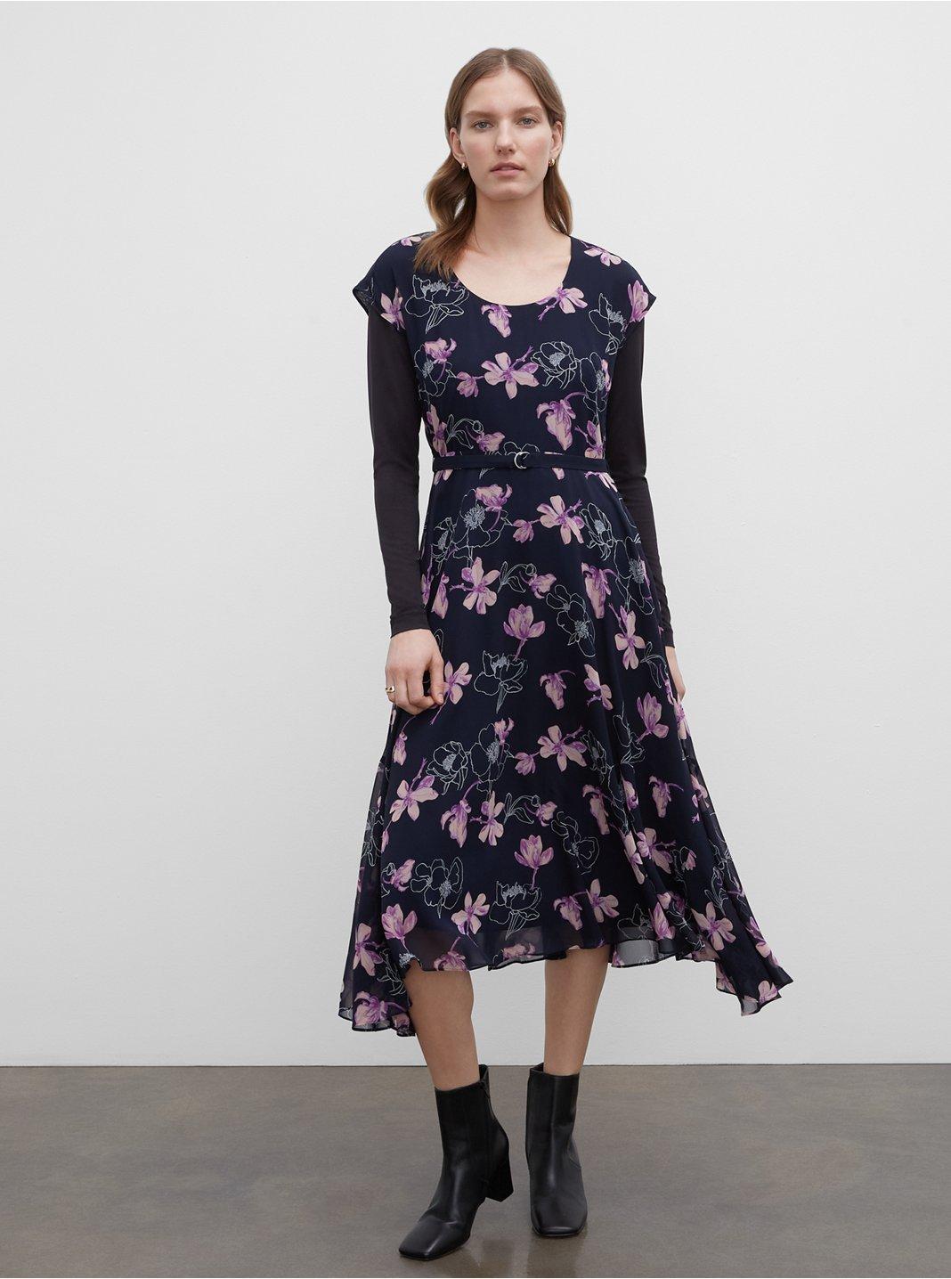 Soft Print Dress