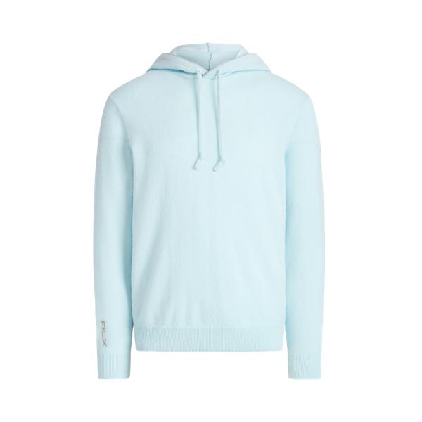 폴로 랄프로렌 남성 골프웨어 Polo Ralph Lauren Washable Cashmere Hooded Sweater,Chambray Heather