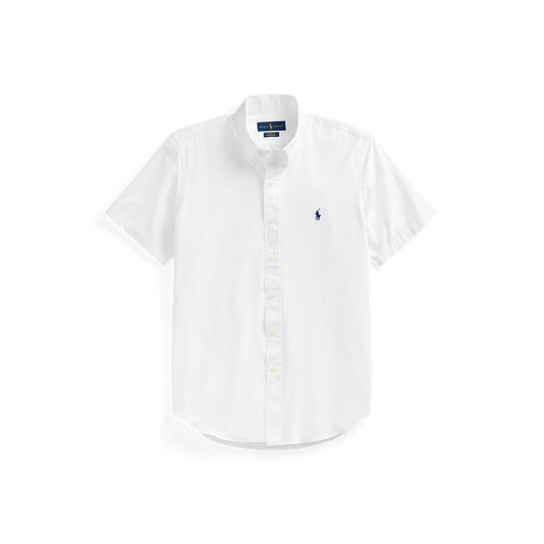 Ralph Lauren Classic Fit Performance Twill Shirt In White