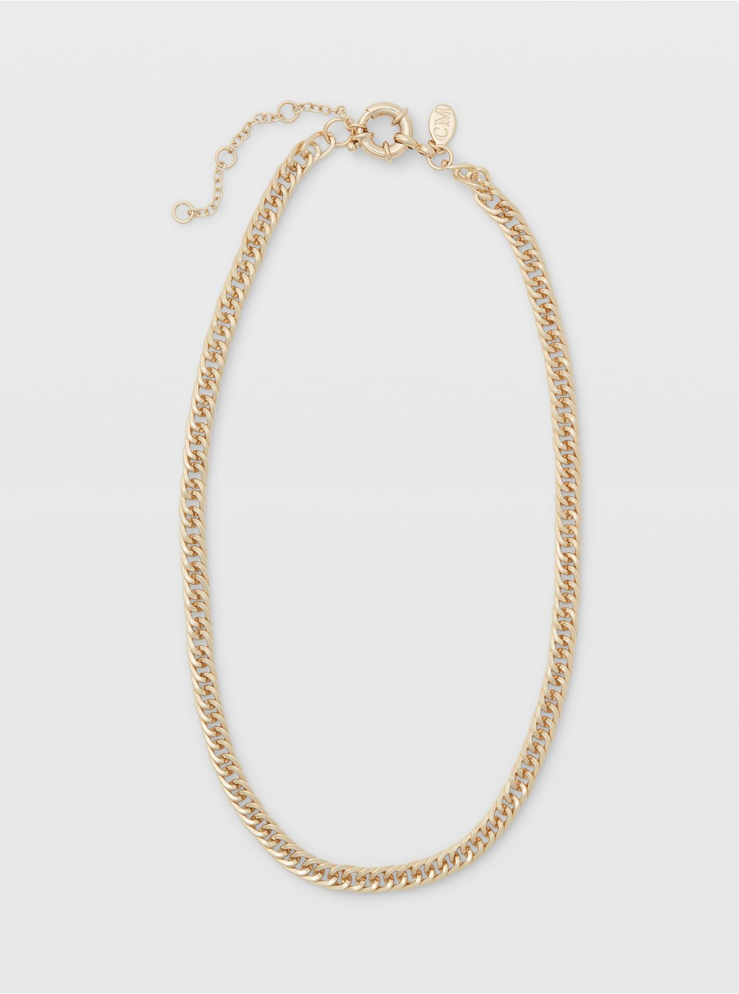 Short Texture Chain Gold