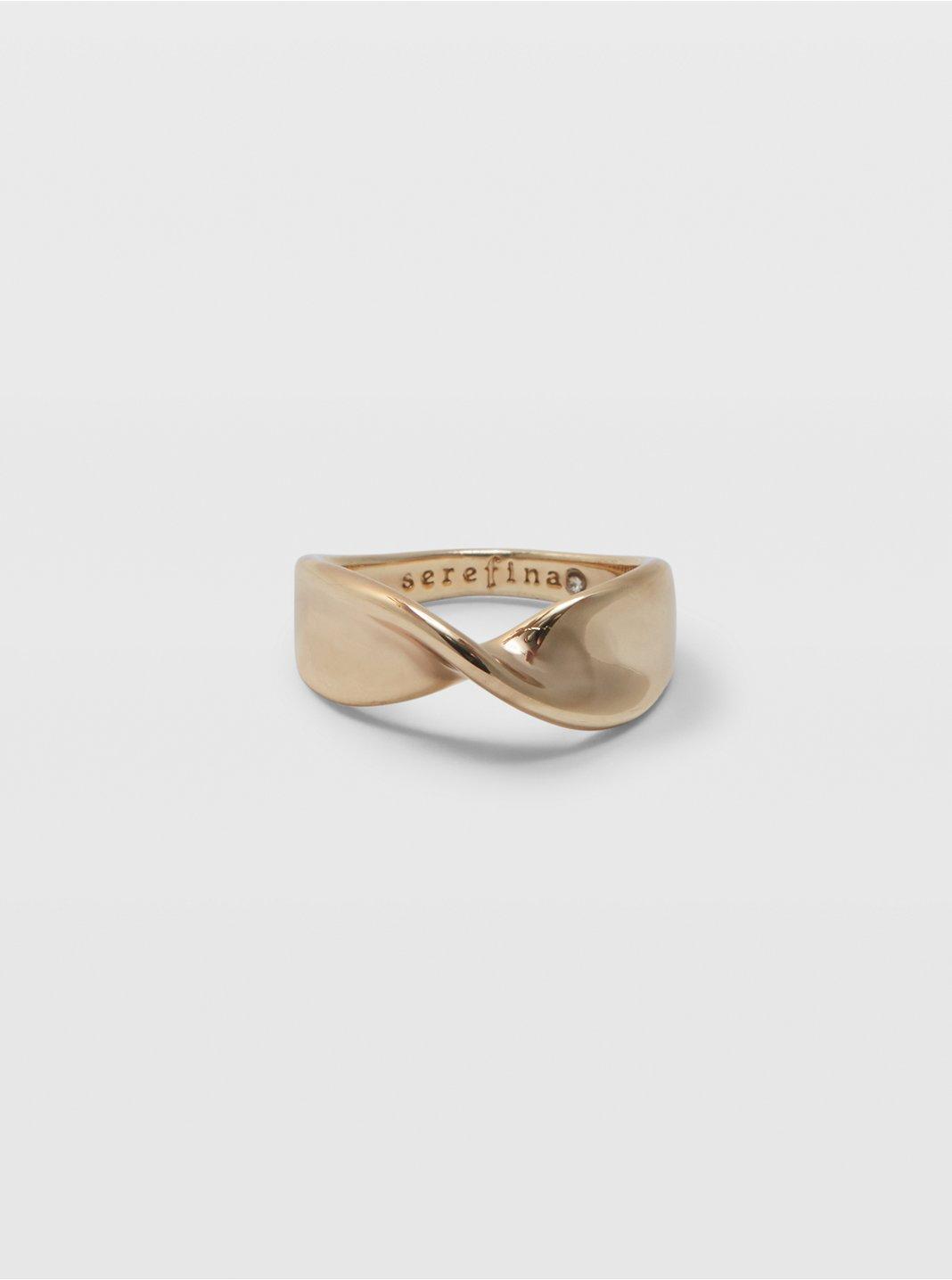 Serefina Twist Ring