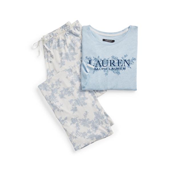 Polo Ralph Lauren Logo Cotton-Blend Sleep Set