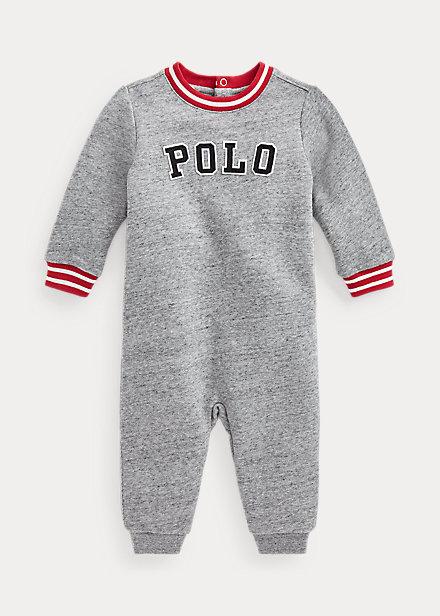 Polo RalphLauren Logo Fleece Coverall