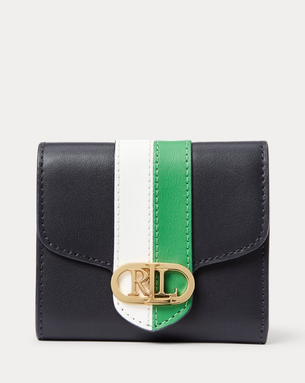 Pebbled Leather Compact Wallet