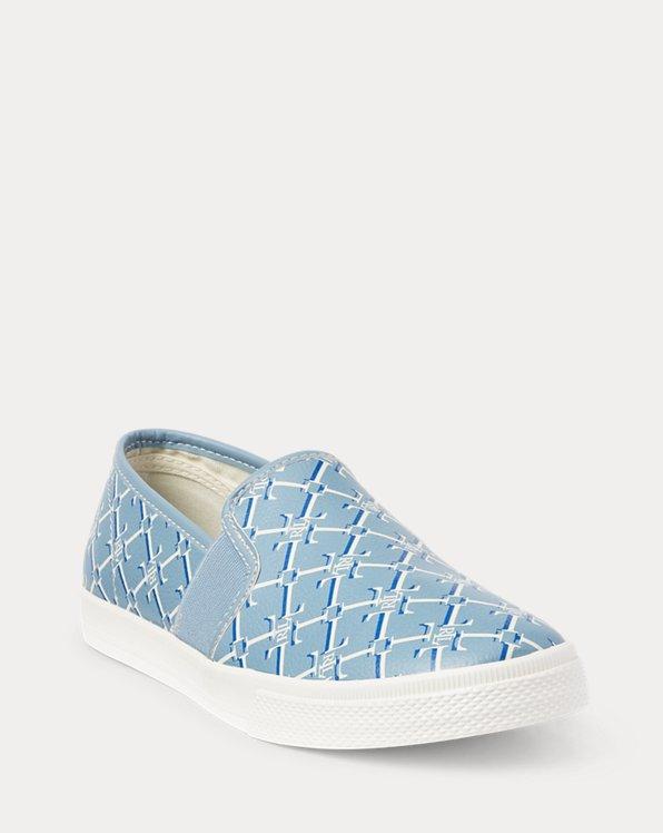 Jinny Faux-Leather Slip-On Sneaker