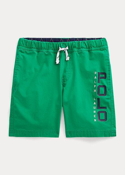 Polo Ralph Lauren Logo Stretch Cotton Short