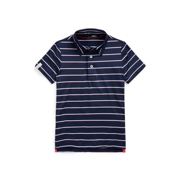 Polo Ralph Lauren Kids' Rlx Golf Performance Polo Shirt In Blue