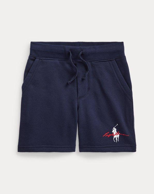 Big Pony Logo Fleece Short
