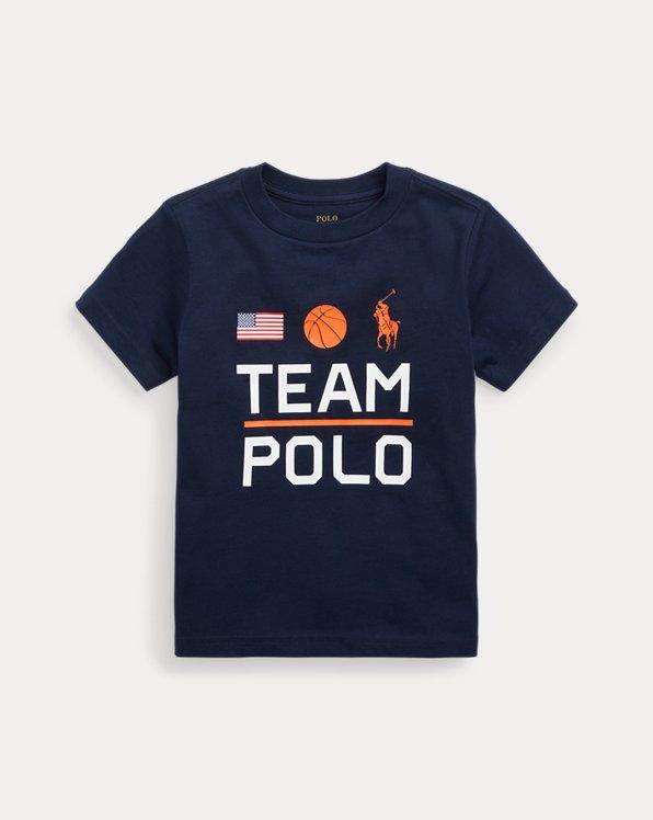 Team Polo Cotton Jersey Tee