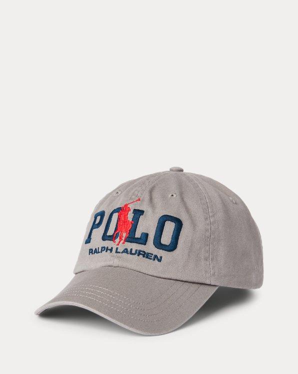 Big Pony Logo Chino Ball Cap