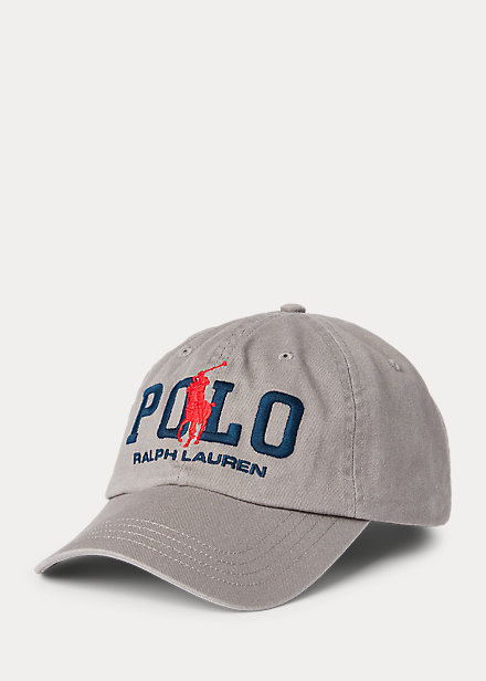Polo Ralph Lauren Big Pony Logo Chino Ball Cap