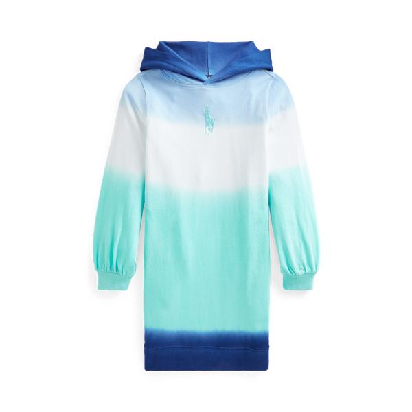 Polo Ralph Lauren Kids' Ombré Spa Terry Hoodie Dress In Blue