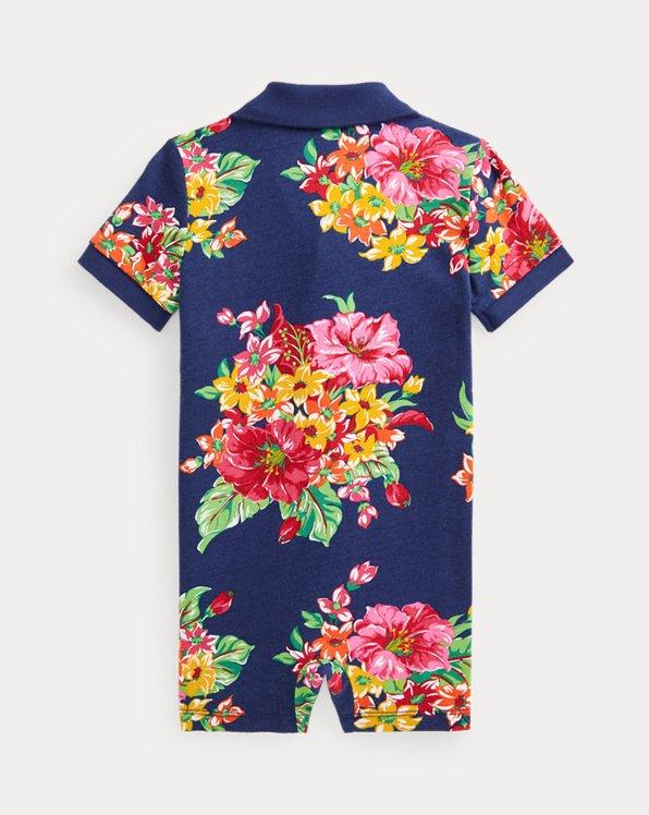 Cotton Jersey Polo Shortall