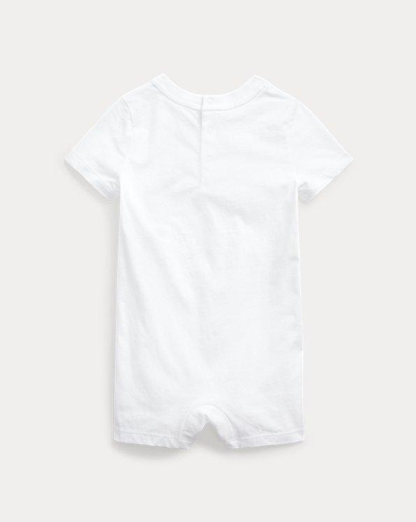 Polo Bear Logo Cotton Shortall