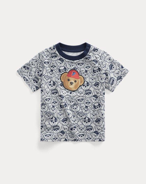P-Wing Polo Bear Cotton Jersey Tee