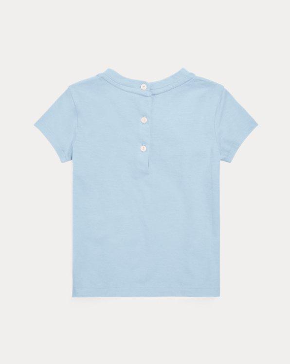 Seashell-Logo Cotton Jersey Tee