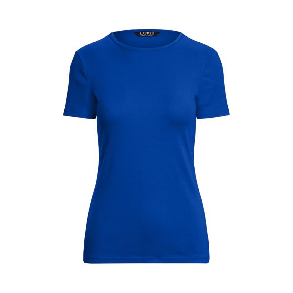Lauren Cotton Blend T Shirt,Sapphire Star