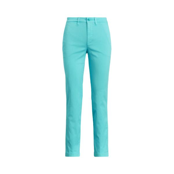 Lauren Ralph Lauren Slim Fit Stretch Chino Pant In Blue