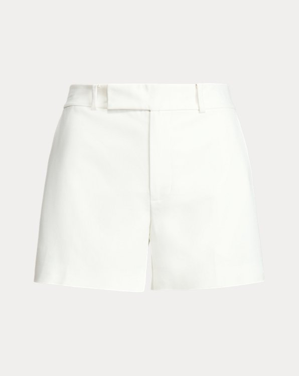 Double-Faced Stretch Cotton Short