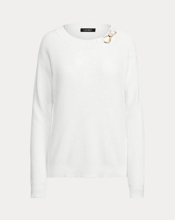 Combed Cotton Clip Sweater