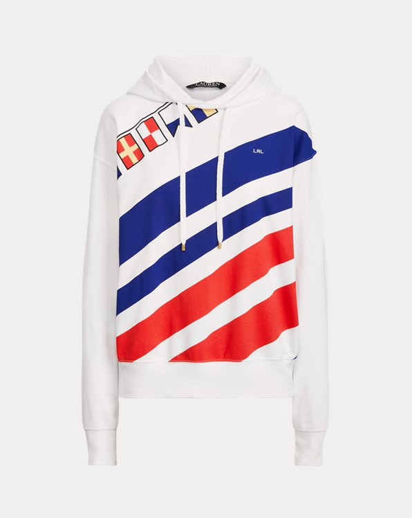 Flags-and-Stripes French Terry Hoodie