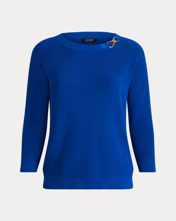 Combed Cotton Sweater