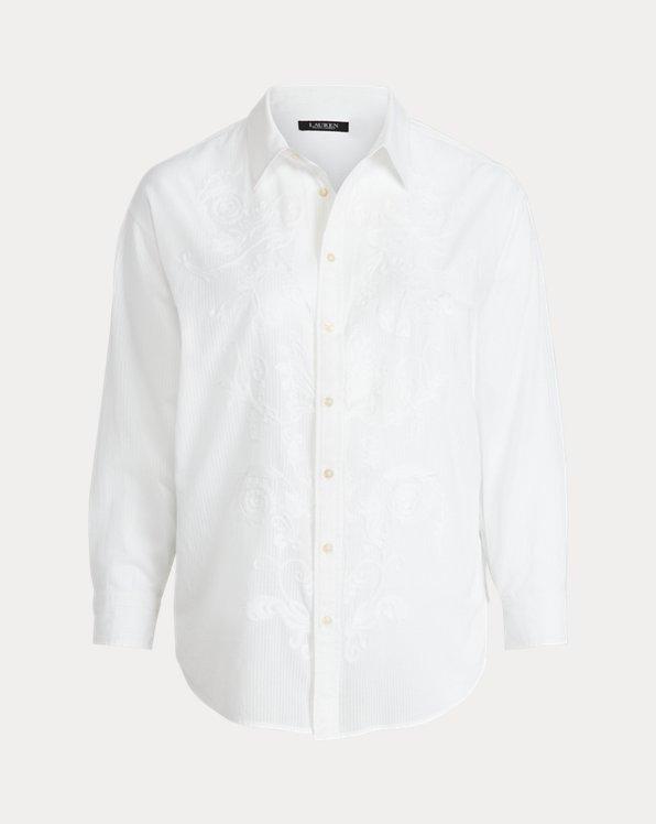 Shadow Stripe Cotton Dobby Shirt