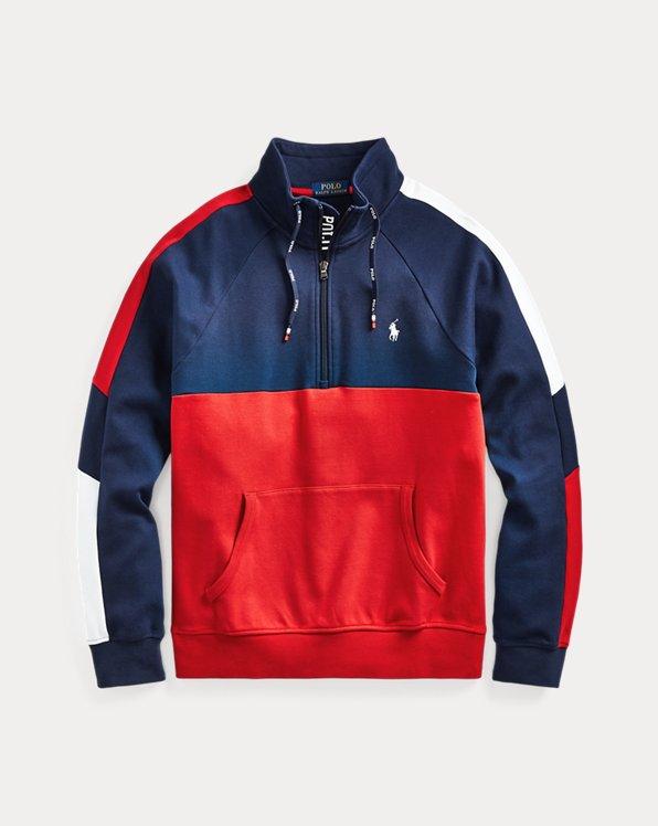 Interlock Quarter-Zip Pullover