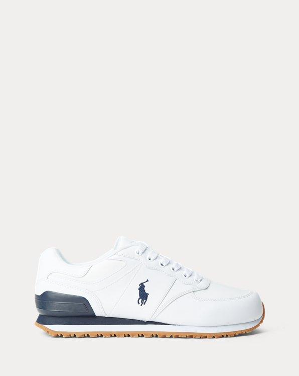 Sneaker Slaton in pelle